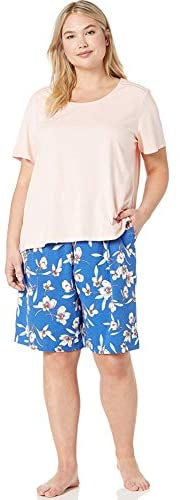 Read more about the article Karen Neuburger Women's Petite Top and Bottom Pajama Set Pj with Sweat Wicking Technology