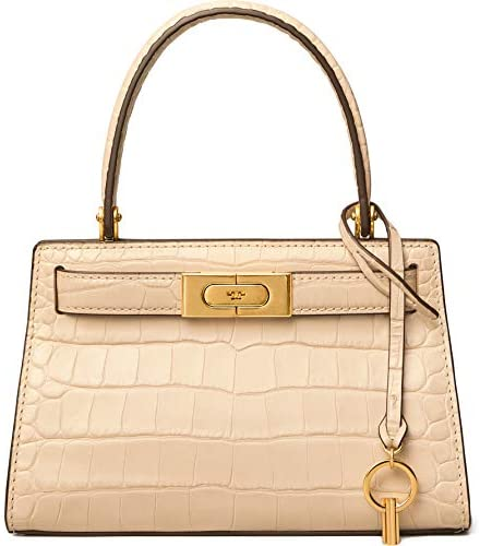 Read more about the article Tory Burch Women's Lee Radziwill Satchel Clay Handbag