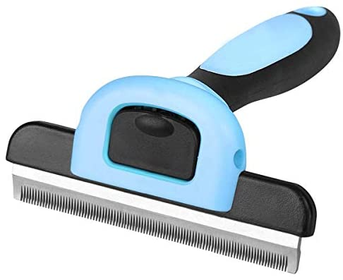 Read more about the article New Pet Grooming Brush, Professional Grooming Tool, Effectively Reduces Shedding by up to 95% Professional Deshedding Tool for Dogs and Cats