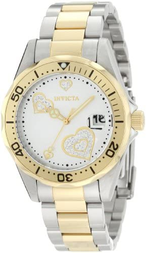 Read more about the article Invicta Women's Angel 38mm Steel and Gold Tone Stainless Steel Quartz Watch, Two Tone (Model: 12287)