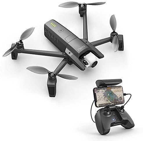 Read more about the article Parrot PF728000 ANAFI Drone, Foldable Quadcopter Drone with 4K HDR Camera, Compact, Silent & Autonomous, Realize your shots with a 180 vertical swivel camera, Dark Grey (Renewed)