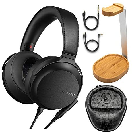 Read more about the article Sony MDR-Z7M2 Hi-Res Stereo Overhead Headphones with Knox Gear Hard Shell Headphone Case and Bamboo Headphone Stand Bundle (3 Items)