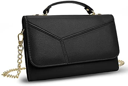 Read more about the article Yaluxe Small Purse Clutch for Women Genuine Leather Evening Bag with Detachable Chain