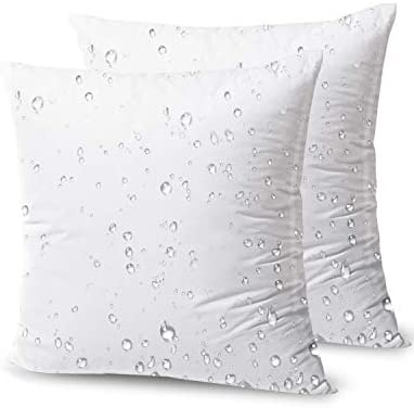 Read more about the article Phantoscope Premium Outdoor Pillow Inserts – Pack of 2 Square Form Water Resistant Decorative Throw Pillows Couch Sham Cushion Stuffer 20 x 20 inches