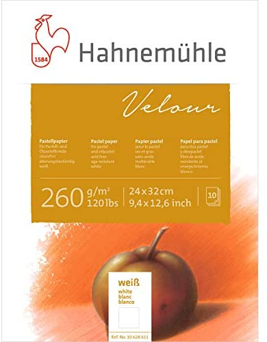 Read more about the article Hahnemuhle Velour 260 gsm Pad – 24 x 32cm White