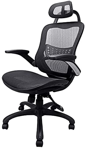 Read more about the article Komene Home Office Chair – Ergonomic Desk Chair high Back Mesh Computer Chair with Lumbar Support & with Headrest, Thick Seat Cushion Recline Chair Swivel Task Chair