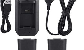 Rechargeable Battery Pack 4800mah Replacement Battery Pack and Charging Kit for Xbox 360 Controller Battery Pack