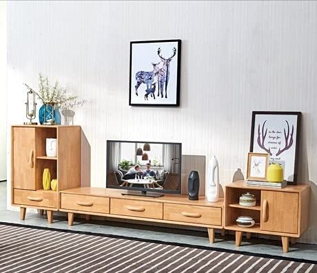 Read more about the article TANGIST Living Room Set Living Room Furniture Home Furniture Solid Wood TV Stands+2 Pieces Living Room Cabinets Sets (Color : Dark Khaki)