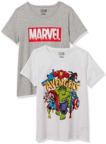 Read more about the article Amazon Essentials Women's Disney Star Wars Marvel Short-Sleeve Crew-Neck T-Shirts