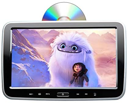 Read more about the article 2021 10.1 Inch Headrest DVD Player Car DVD Player Eonon HD Digital Multimedia Monitor Super-Thin Car Headrest DVD Player, Headrest Monitors with HDMI Port and Remote Control USB and SD-L0299A