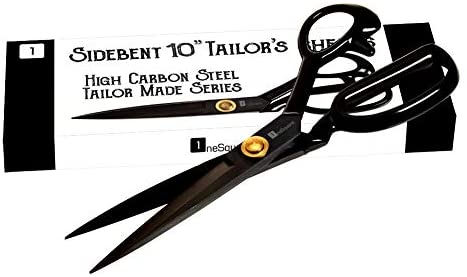 Read more about the article Scissors 10 inch – Professional Heavy Duty Industrial Strength High Carbon Steel Tailor Scissor Shears for Fabric Leather Sewing Dressmaking Tailoring Home Office Artists Students Tailors Dressmakers