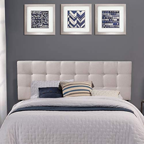 Read more about the article Hillsdale Furniture Delaney Headboard without Frame Full/Queen Fog