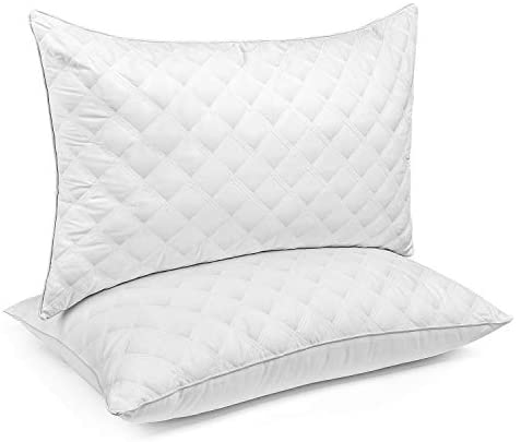 Read more about the article N/C Bed Pillows for Sleeping 2 Pack Queen Size 20 x 30 Inches, Hypoallergenic Pillow for Side and Back Sleeper, Soft Hotel Collection Gel Pillows Set of 2, Down Alternative Cooling Pillow