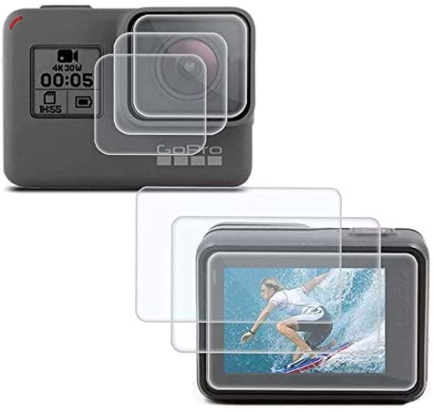 Read more about the article PCTC Tempered Glass Films Compatible for Gopro Hero 7 6 5 Screen and Lens Cap Cover Protector (6 Pack)