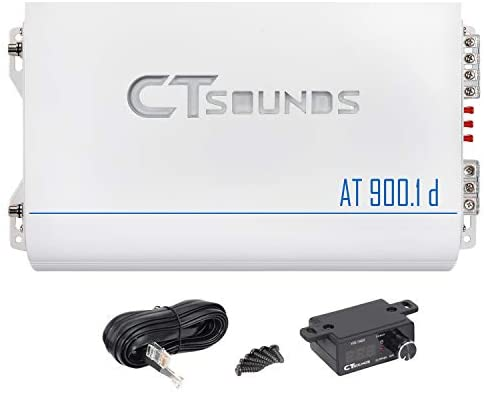 Read more about the article CT Sounds AT-900.1D 1200 Watt Class D Competition Mono Amplifier Car Audio