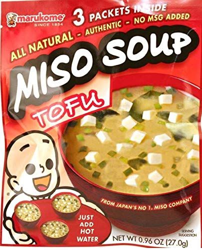 Read more about the article Marukome Miso Tofu Soup Mix Dry .96 oz