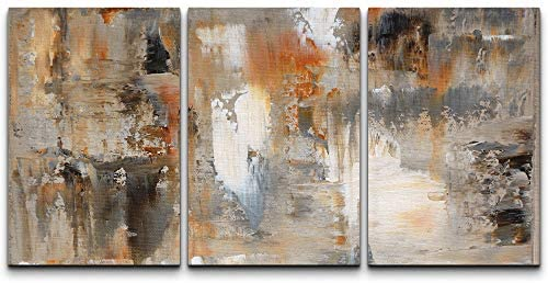 Read more about the article wall26 – Brown and Beige Painting – Canvas Art Wall Art – 24″x36″x3 Panels