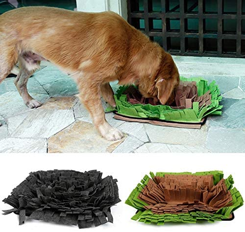 Read more about the article Ayunjia Pet Snuffle Mat Dog Smell Training Mat Stress Release Nosework Blanket