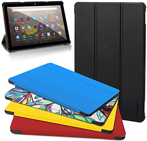 Read more about the article All-New Kindle Fire HD 10 Tablet Case, Fire HD 10 Plus Tablet Case (11th Generation, 2021 Release) – Ultra Light Slim Fit Protective Cover with Auto Wake/Sleep Black