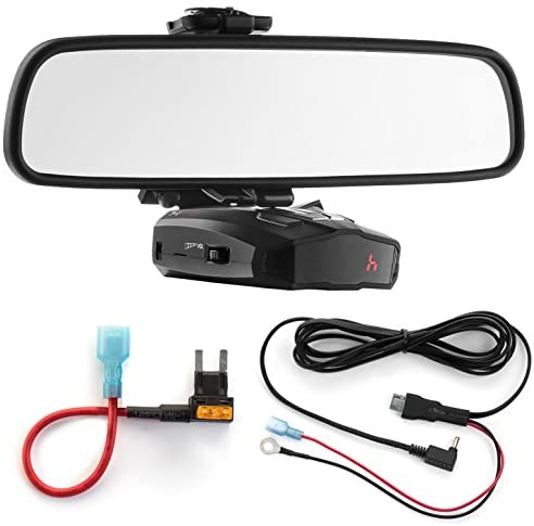 Read more about the article Radar Mount Mirror Mount Bracket + Direct Wire Power Cord + Mini Fuse Tap for Cobra (3001403)