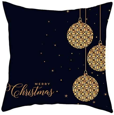 Read more about the article Atezch Christmas Pillow Cover 18×18,Short Plush Square Throw Pillow Cushion Case for Sofa Couch Car Home Decor