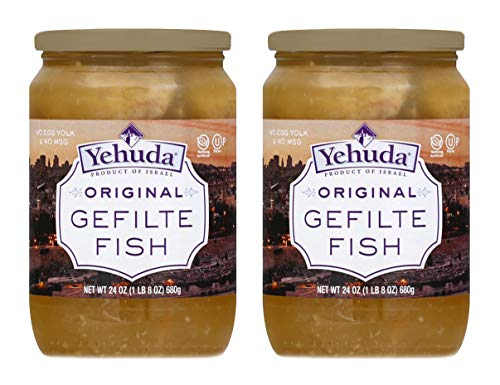 Read more about the article Yehuda Original Gefilte Fish 24oz (2 Pack) Premium Quality, No MSG, Original Home Style Recipe, No Egg Yolk, Kosher For Passover, Product of Israel