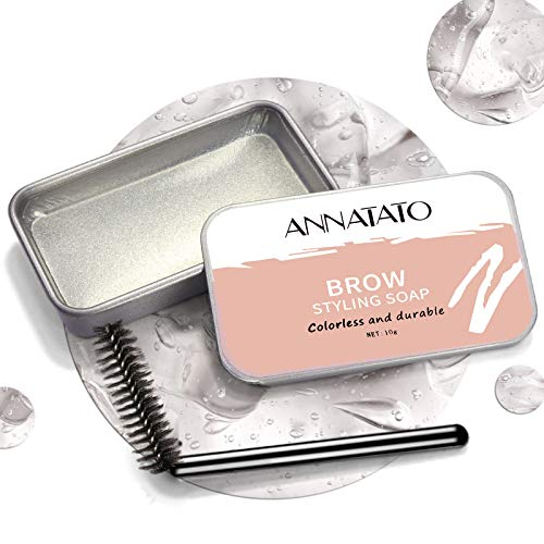 Read more about the article ANNATATO Soap Brows, Clear Eyebrow Solid Gel Styling Kit Long Lasting Wax Waterproof Freeze Pomade for Brow Lamination (Pack of 1, clear)