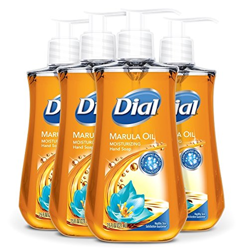 Read more about the article Dial Liquid Hand Soap, Marula Oil, 7.5 Fluid Ounce, Pack of 4