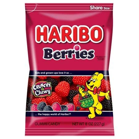 Read more about the article Haribo Gummi Candy, Berries, 5 Ounce-SET OF 4