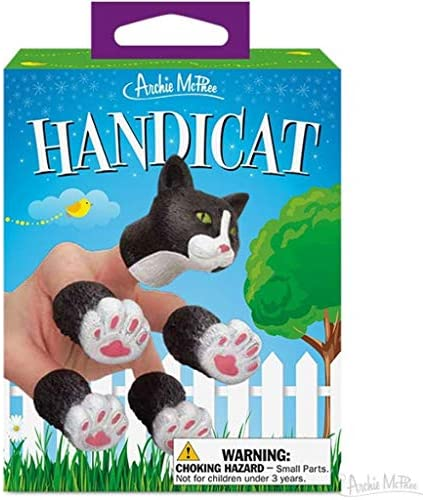 Read more about the article Archie McPhee Handicat Novelty Finger Puppet