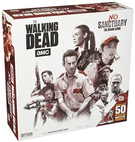 Read more about the article Cryptozoic Entertainment Walking Dead No Sanctuary Base Game