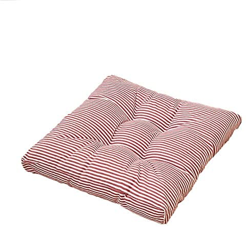 Read more about the article KIJH Cotton and Linen seat Pads for Dining Chairs Stripe Chair Cushion Round 1 Pieces Thicken Padded Cushions for Kitchen Chairs Quilted Design Comfortable BreathableA-42x42cm(17x17inch)