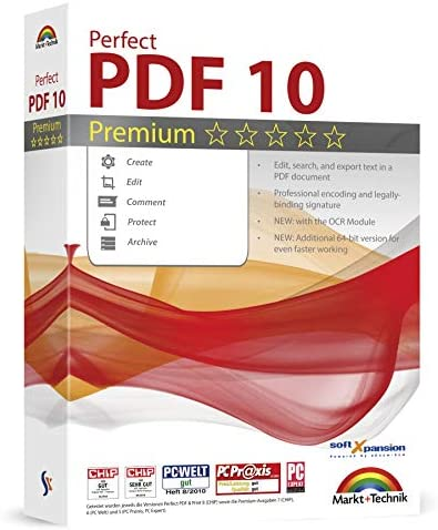 Read more about the article Perfect PDF 10 Premium – Powerful PDF Editing Software – 100% Compatible with Adobe Acrobat – Create, Edit, Convert, Protect, Add Comments, Insert Digital Signatures, OCR Recognition