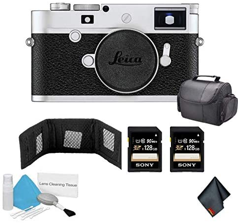 Read more about the article Leica M10-P Digital Rangefinder Camera 24MP (Silver Chrome | 20022) – Bundle with 256GB of Memory Cards + More
