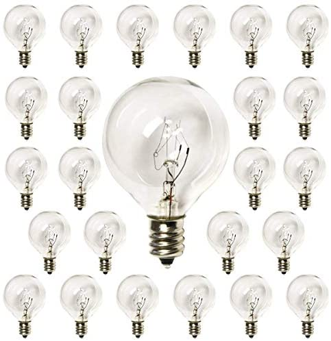 Read more about the article YiLighting G40 Globe Bulb 5W Incandescent Bulbs for Indoor Outdoor String Light Bulbs Replacement (10)