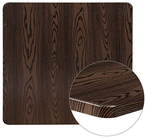 Read more about the article Lancaster Home 36″ Square Rustic Wood Laminate Table Top – Restaurant Furniture