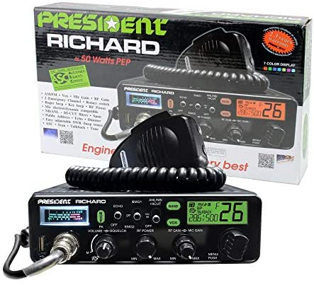 Read more about the article President Richard 10 Meter Ham Radio, 50W PEP