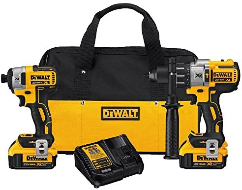 Read more about the article DEWALT 20V MAX XR Brushless Impact Driver and Hammer Drill Combo Kit, Premium 4.0Ah, Cordless (DCK299M2)