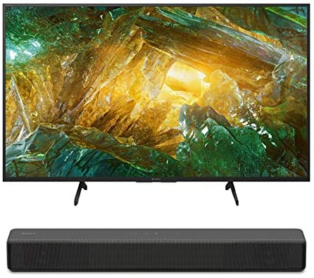 Read more about the article Sony XBR-43X800H 43-Inch LED 4K Ultra HD HDR Android Smart TV (2020 Model) HT-S200F 2.1 Channel Soundbar Bundle (2 Items)