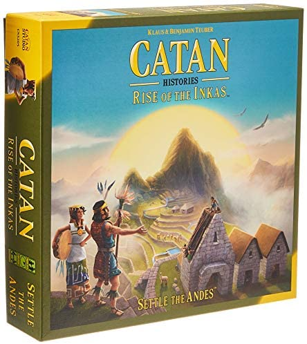 Read more about the article CATAN Histories: Rise of The Inkas Board Game | Family Board Game | Board Game for Adults and Family | Adventure Board Game | Ages 12+ | for 3 to 4 Players | Made by Catan Studio