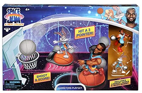 Read more about the article SPACE JAM: A New Legacy – Gametime Playset with Lebron & Bugs Bunny Figures