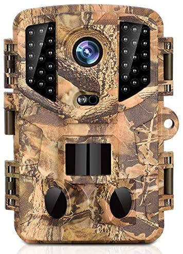Read more about the article KINGCO Trail Camera 16MP Full HD Night Vision 1080P Hunting Camera with 3 Infrared Sensors, Time Lapse and 0.2s Trigger Speed Wildlife Camera, Waterproof IP66