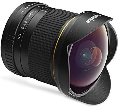 Read more about the article Opteka 6.5mm f/3.5 Professional Ultra Wide Angle Aspherical Fisheye Lens for Canon EF-Mount EOS 90D, 80D, 77D, 70D, 60D, 50D, 7D, Rebel T8i, T7i, T7s, T6s, T6i, T6, T5i, T5, T4i, T3i, T3, T2i and SL3