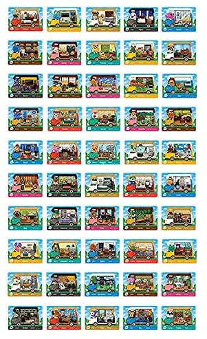 Read more about the article WANGCAI 50 PCS Caravan RV Cards Game for Animal Crossing New Horizons Switch/Switch Lite/Wii U