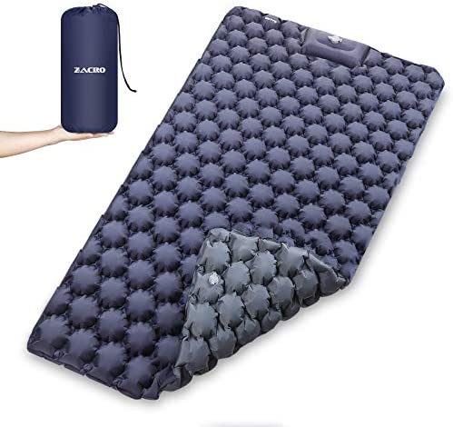 Read more about the article Zacro Double Camping Sleeping Pad, 2 Person Camping Sleeping Mat, Wide 47 inches Lightweight Camping Mattress, Sleeping Mat for Backpacking, Camp, Hiking, Travel.