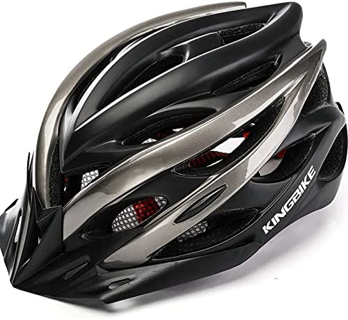 Read more about the article KINGBIKE Ultralight Bike Helmets with Rear Light + Portable Simple Backpack + Two Detachable Visor for Men Women(M/L,L/XL)