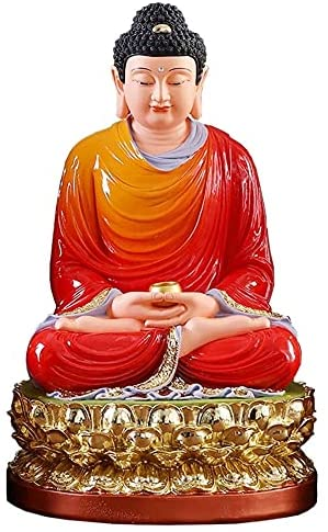 Read more about the article LQX Statue Meditation Buddha Statue Sculpture Statue Feng Shui Office Home Decoration Desktop Accessories Crafts Decoration Figurines (Size : Medium)