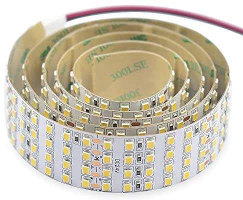 Read more about the article 2835 White High CRI 90 LED Strip Light – Bright Color Quad Row Flexible LED Tape Lights 24V- IP20-3,530 lm/m for LED Industrial and Photographic Lighting (1m/3.28′ Daylight White)