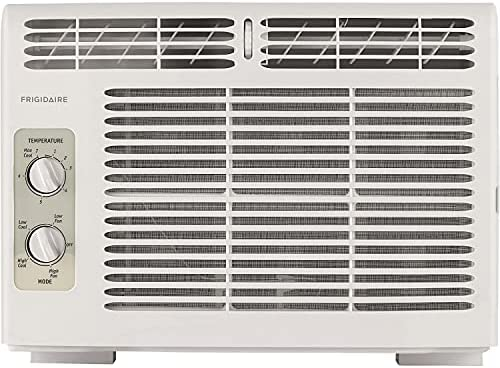 Read more about the article FRIGIDAIRE 5,000 BTU 115V Window-Mounted Mini-Compact Air Conditioner with Mechanical Controls, White