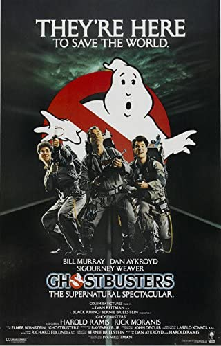 Read more about the article Ghostbusters POSTER Movie (11 x 17 Inches – 28cm x 44cm) (1984) (Style G)